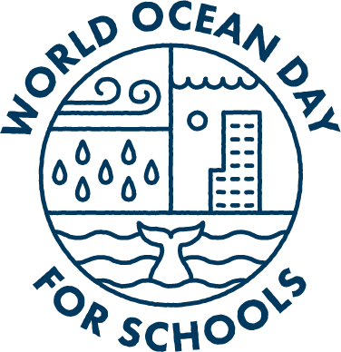 World Ocean Day for Schools Logo